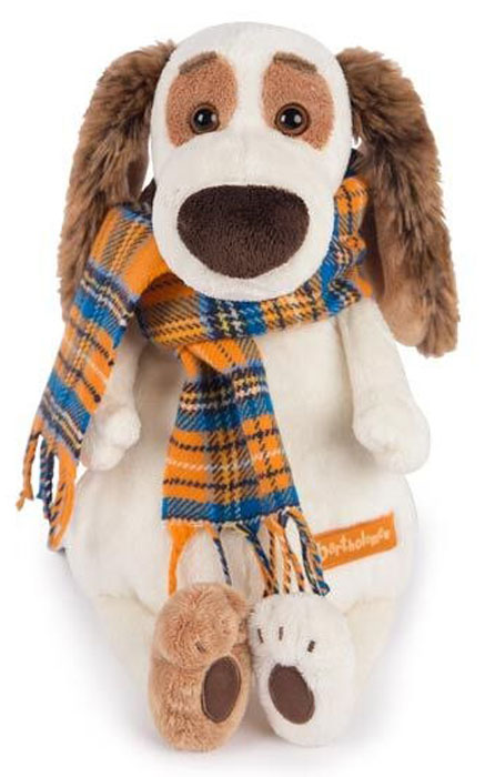 Bartholomew Мягкая игрушка Бартоломей в шарфе 33 см bartholomew