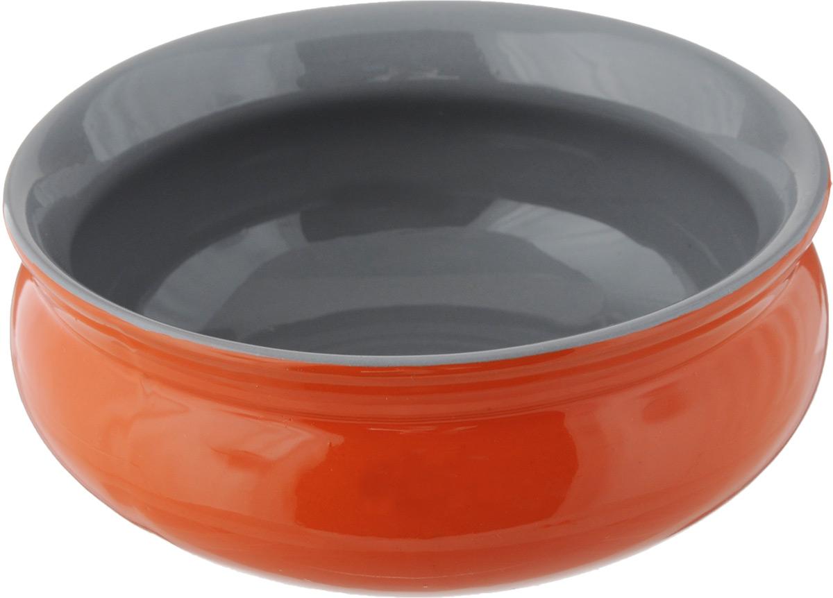 Тарелка глубокая Борисовская керамика Скифская, цвет: оранжевый, серый, 800 млРАД14457937_оранжевый, серыйГлубокая тарелка Борисовская керамика Скифская выполнена из высококачественной керамики. Изделие сочетает в себе изысканный дизайн с максимальной функциональностью. Она прекрасно впишется в интерьер вашей кухни и станет достойным дополнением к кухонному инвентарю.Тарелка Борисовская керамика Скифская подчеркнет прекрасный вкус хозяйки и станет отличным подарком.Можно использовать в духовке и микроволновой печи.Диаметр тарелки (по верхнему краю): 16 см. Высота стенки: 6,5 см.Объем: 800 мл.
