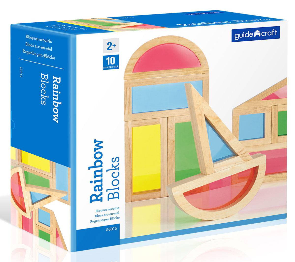 Guide Craft Конструктор Rainbow Blocks G3015 guide craft магнитный конструктор better builders career people