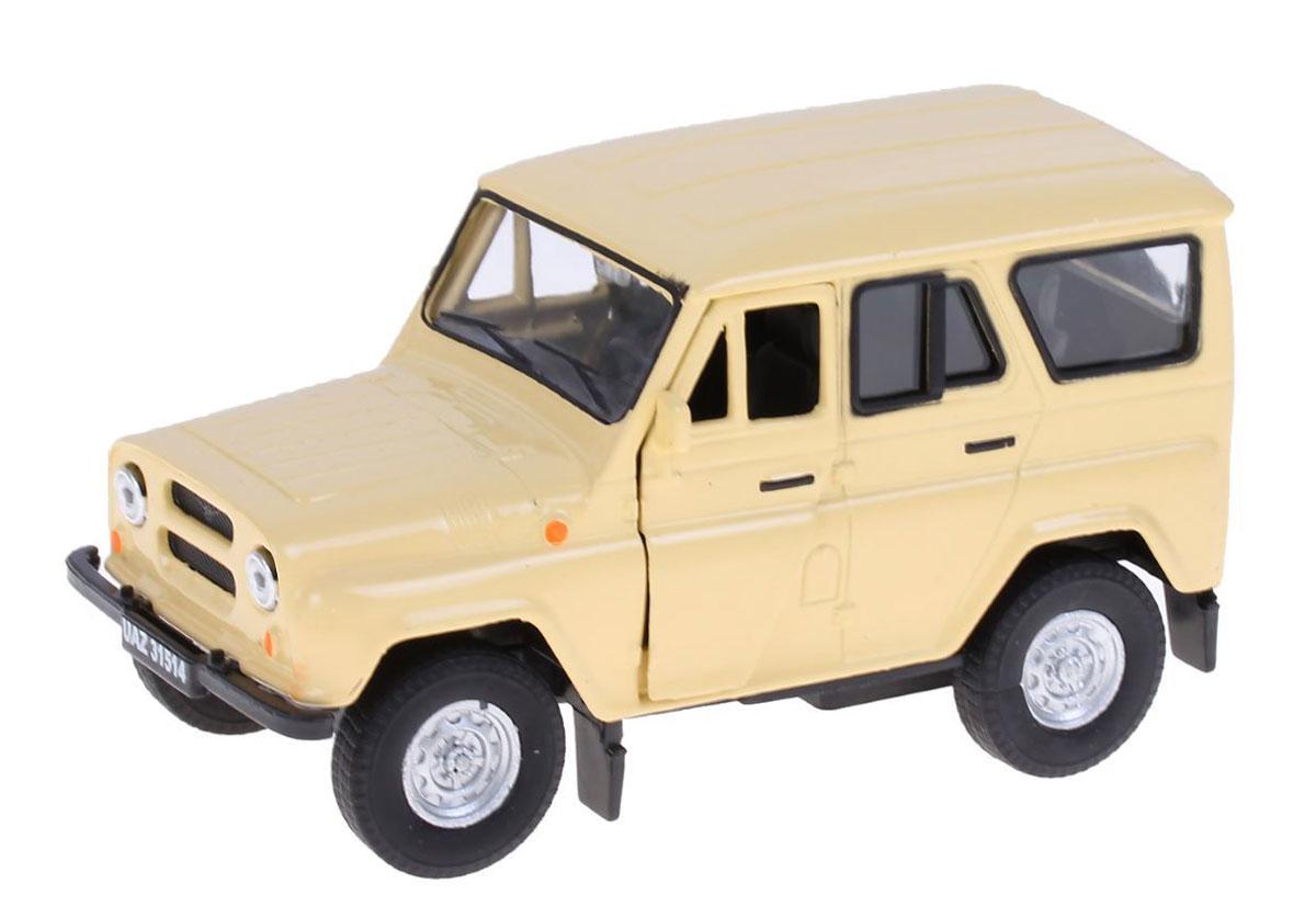 Autotime Модель автомобиля УАЗ 31514 цвет бежевый машинки autotime машина uaz 31514 почта