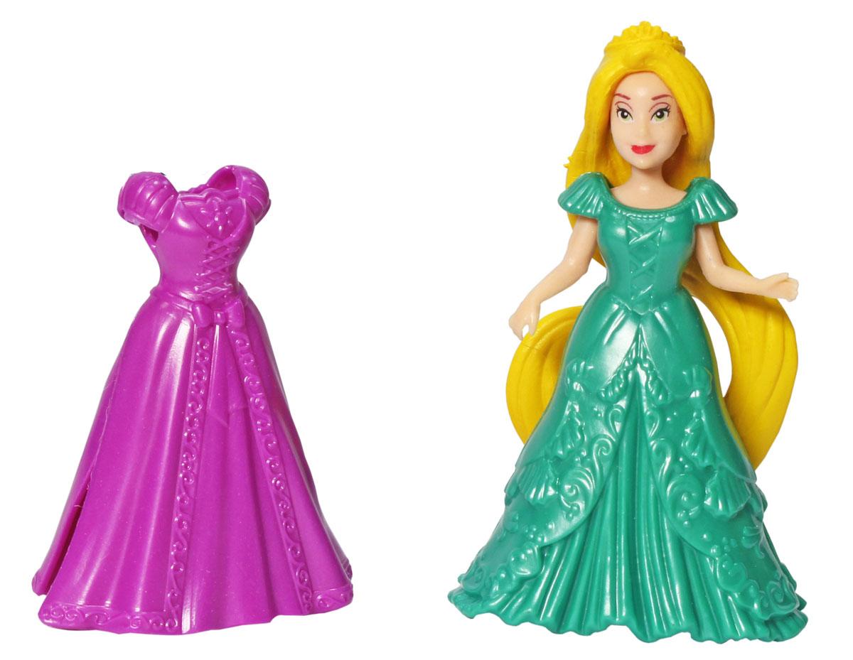 1TOY Мини-кукла Красотка цвет платья фиолетовый зеленый