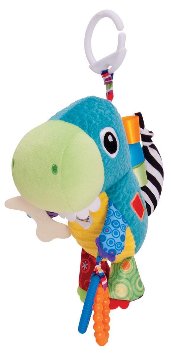 Lamaze Развивающая игрушка Динозавр Торин lamaze улитка мишель с зеркальцем