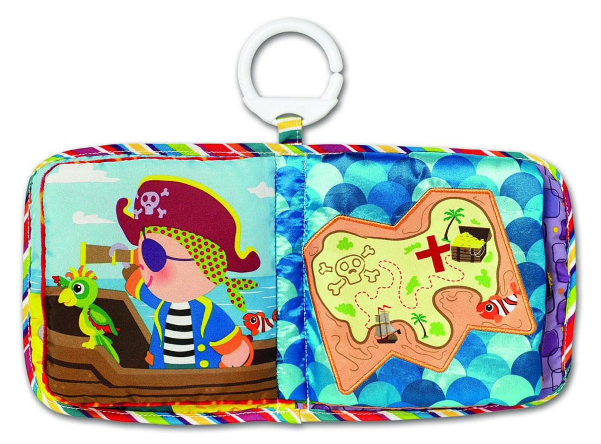 Lamaze Развивающая игрушка Пират Пит с подвеской lamaze улитка мишель с зеркальцем