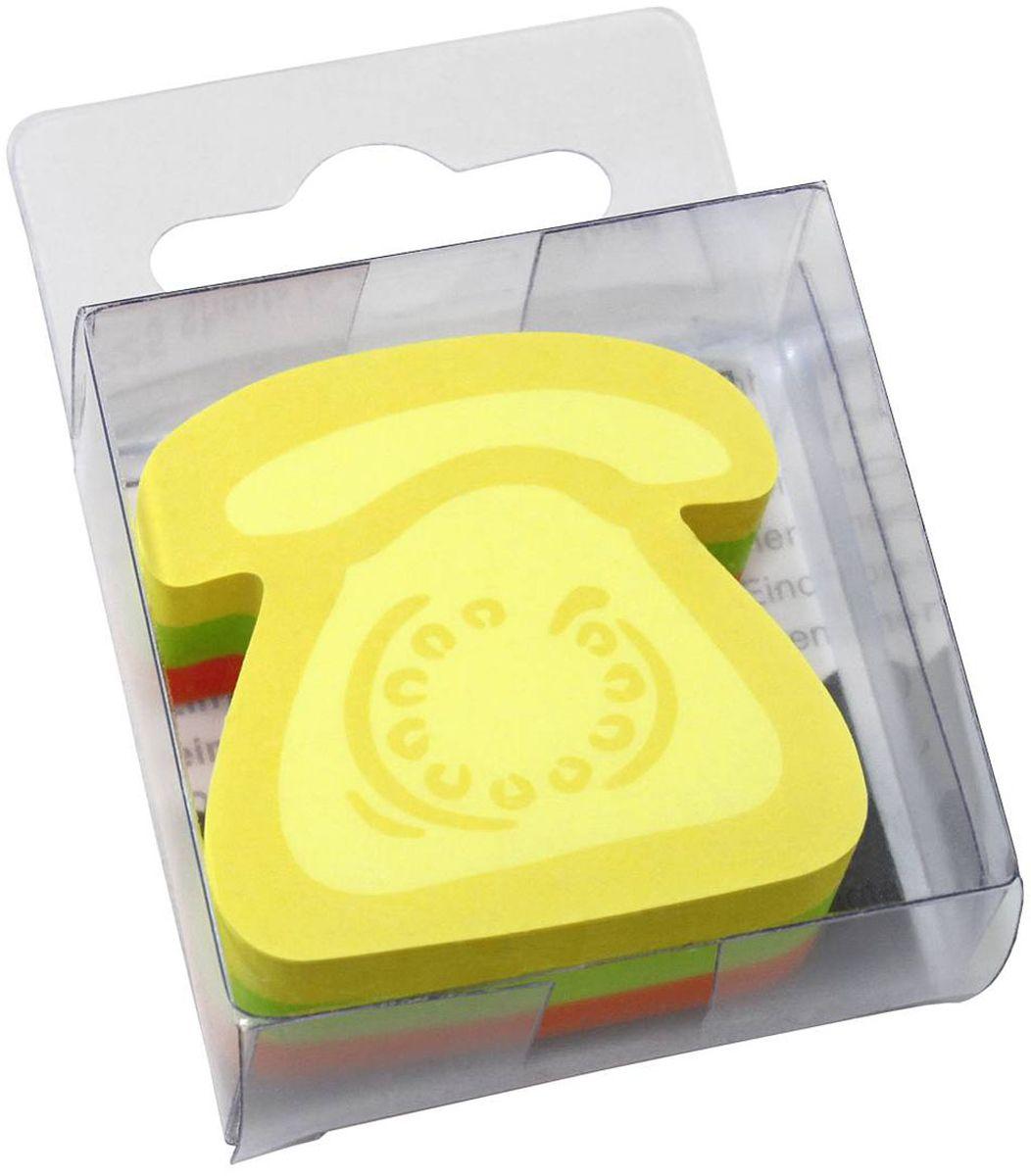 Global Notes Бумага для заметок с липким слоем Телефон 5 х 5 см 225 листов0703415Бумага для заметок с липким слоем Global Notes Телефон - яркие фигурные листочки с клейким краем обязательно привлекут внимание к вашему сообщению. Листочки легко приклеиваются к любой поверхности, будь то бумага, корпус монитора, дверь. Не оставляют следов после отклеивания.
