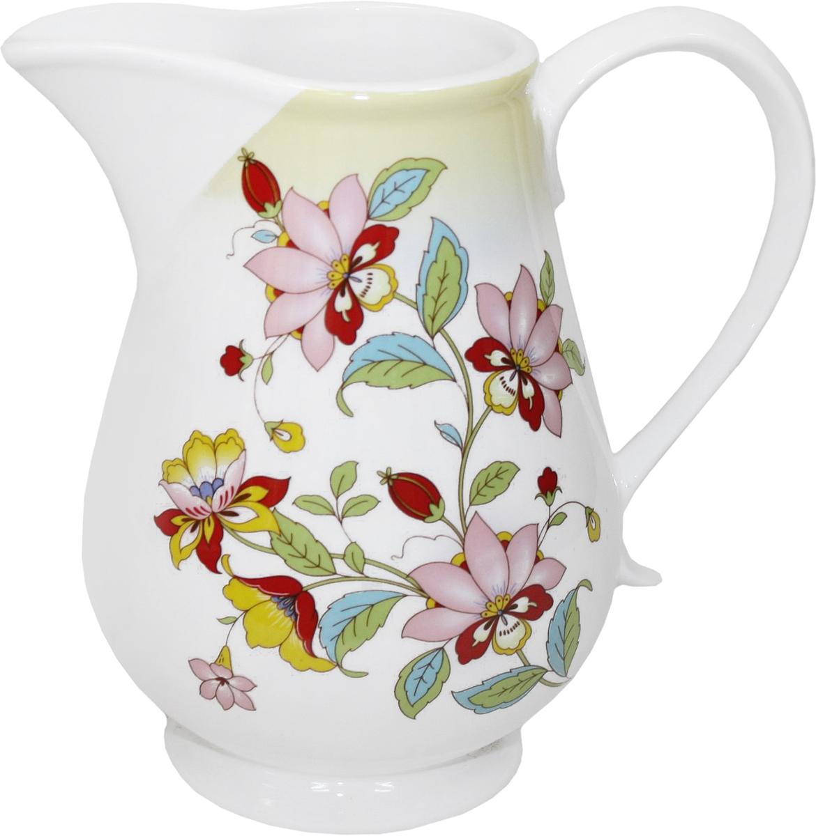 Кувшин Azulejo Espanol Ceramica Sunny Flowers, 1,4 лVT-1520(SR)Кувшин Azulejo Espanol Ceramica Sunny Flowers сочетает в себе кухонную практичность и декоративную утонченность.Он оформлен художественной печатью и станет отличным украшением вашего интерьера.