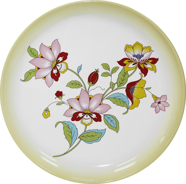 Тарелка Azulejo Espanol Ceramica Sunny Flowers, 21 см115510ТарелкаAzulejo Espanol Ceramica Sunny Flowers сочетает в себе кухонную практичность и декоративную утонченность.Тарелка оформлена художественной печатью и станет отличным украшением вашего интерьера.