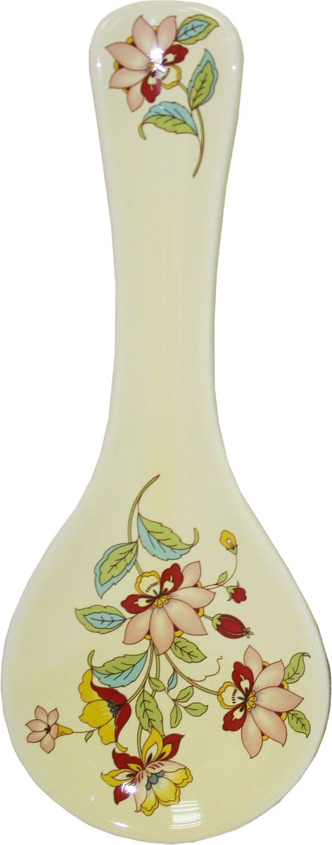 Подставка под ложку Azulejo Espanol Ceramica Sunny FlowersВетерок-2 У_6 поддоновПодставка под ложку Azulejo Espanol Ceramica Sunny Flowers сочетает в себе кухонную практичность и декоративную утонченность.Подставка оформлена художественной печатью и станет отличным украшением вашего интерьера.