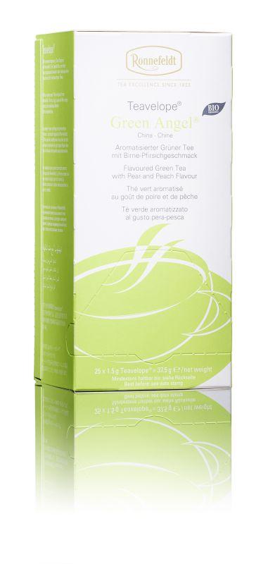 Ronnefeldt зеленый чай со вкусом груши и персика в пакетиках, 25 шт8886300990270Типичная терпкость мягкого зеленого чая в композиции с сочно-сладким ароматом груши и персика.Чай из линии Teavelope произведен традиционным способом. Качество трав, фруктов и других ингредиентов отвечает самым высоким требованиям. А особая защитная упаковка сохраняет чай таким, каким его создала природа: ароматным, свежим и неповторимым.Уважаемые клиенты! Обращаем ваше внимание на то, что упаковка может иметь несколько видов дизайна. Поставка осуществляется в зависимости от наличия на складе.