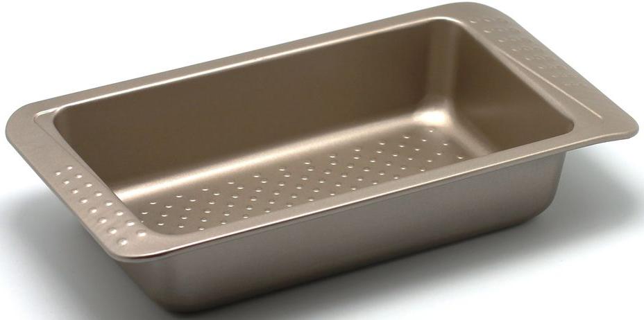 Форма для выпечки Zanussi Turin, 31,2 х 16 х 6 см, цвет: бронзовый. ZAC31112CF54 009312Коллекция форм серии Turin является хорошим приобретением любой хозяйки. Товар бренда Zanussi - металлические формы - пользуется высоким спросом, его отличает высокое качество и удобный размер. Изделия выполнены из толстой углеродистой стали. Форма имеет антипригарное покрытие и утолщенные стенки, которые гарантируют равномерное пропеканиеизделия. Можно использовать в духовке до 230 градусов. Главное преимущество стальных форм - это абсолютная химическая нейтральность и экологичность.