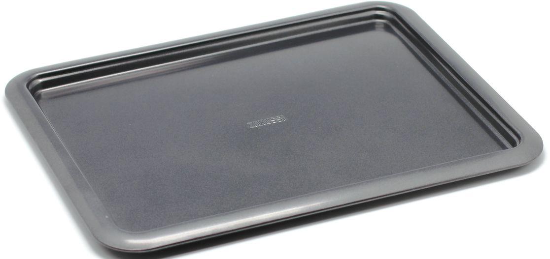Противень Zanussi Taranto, 41,5 х 32 х 1,6 см, цвет: черный. ZAC39211BFFS-91909Коллекция форм серии Taranto является хорошим приобретением любой хозяйки. Товар бренда Zanussi - металлические формы - пользуется высоким спросом, его отличает высокое качество и удобный размер. Изделия выполнены из толстой углеродистой стали. Форма имеет антипригарное покрытие и утолщенные стенки, которые гарантируют равномерное пропекание изделия. Можно использовать в духовке до 230 градусов. Главное преимущество стальных форм - это абсолютная химическая нейтральность и экологичность.