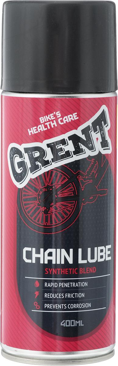 Смазка для цепи Grent, синтетическая, 400 мл40387Синтетическая смазка Grent предназначена для всех видов цепей, в том числе велосипедных. Обеспечивает оптимальное смазывание, устойчива к действию низких и высоких температур, уменьшает трение, снижает потерю мощности. Предотвращает растяжение, обладает очень хорошей адгезией, защищает от влаги и коррозии. Средство увеличивает срок службы цепи. Состав: масло гидрокрекинговое, полимеры, пакет функциональных присадок, высокоочищенный углеводородный растворитель, пропан, бутан. Товар сертифицирован.