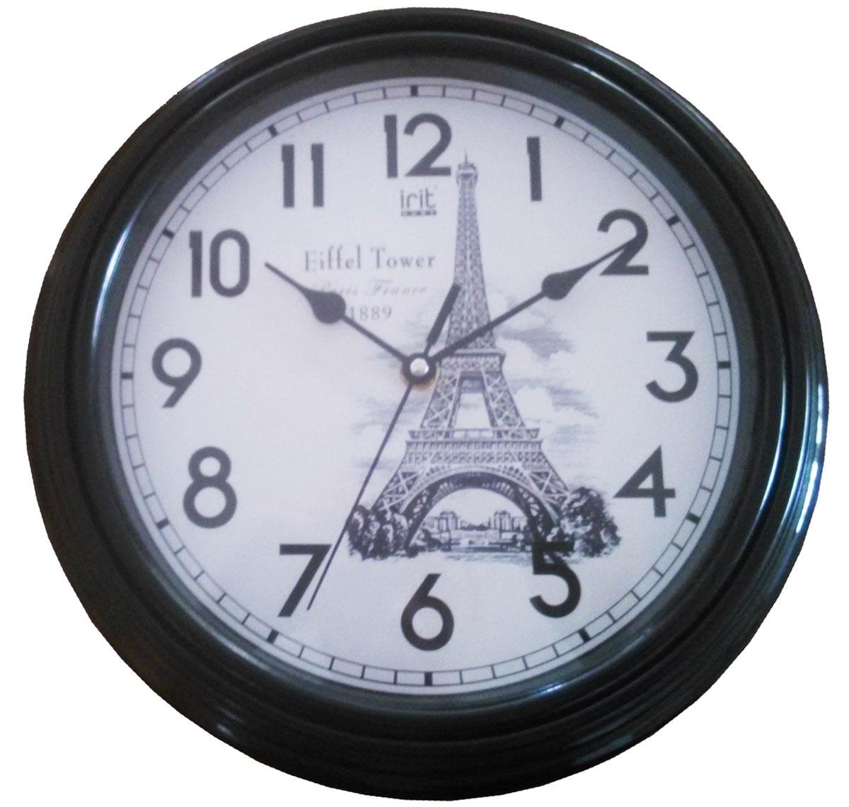 Irit IR-619 настенные часы94672Настенные часы Irit IR-619 - это элегантный и неотъемлемый элемент дизайна любого помещения. Корпус кварцевых часов выполнен из качественного пластика, который гарантирует не только их легкость, но и практичность, легкий монтаж и уход. Циферблат данной модели оформлен стильным и красивым принтом. Диаметр часов: 30 см.