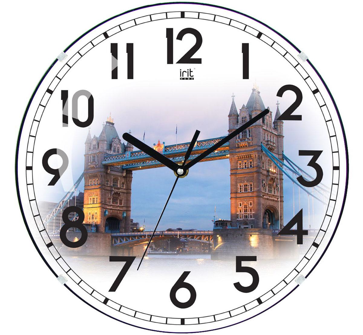 Irit IR-625 Европа настенные часы94672Настенные часы Irit IR-625 Европа - это элегантный и неотъемлемый элемент дизайна любого помещения. Корпус кварцевых часов выполнен из качественного пластика, который гарантирует не только их легкость, но и практичность, легкий монтаж и уход. Циферблат данной модели оформлен стильным и красивым принтом. Диаметр часов: 35 см.