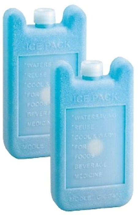 Аккумулятор холода Tramp, цвет: голубой. TRA-207AS 25Материал: Пластик, соленой растворОбъем: 200мл/ 400мл