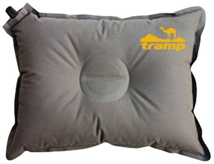 Подушка самонадувающаяся Tramp, цвет: серый, 43х34х8,5см. TRI-008 - Подушки, пледы, коврики