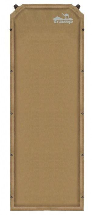 Коврик самонадувающийся Tramp, цвет: бежевый, 190х65х7,0см. TRI-009 - Туристические коврики