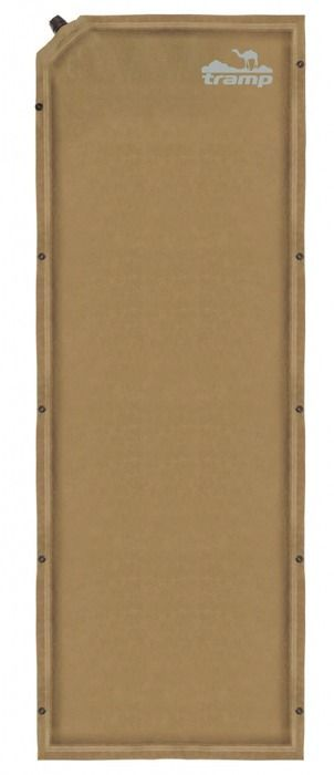 Коврик самонадувающийся Tramp, цвет: бежевый, 190х65х5см. TRI-010 - Туристические коврики