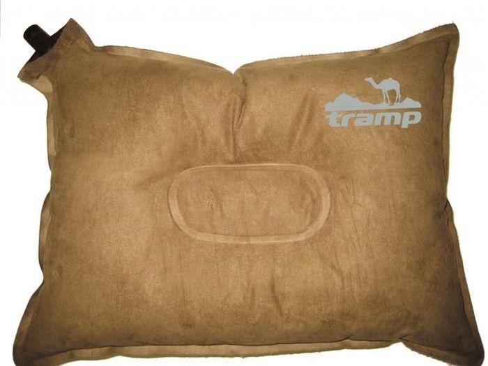 Подушка самонадувающаяся Tramp, цвет: бежевый, 43х34х8,5 см. TRI-012 - Подушки, пледы, коврики