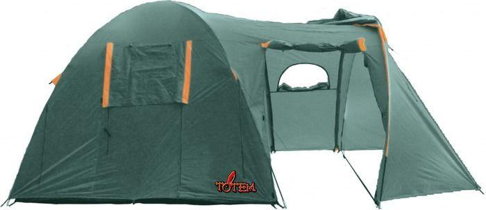 Палатка кемпинговая Тотеm Catawba 4, цвет: зеленый. TTT-006,09GESS-131Размер: 230 х 440 смКоличество мест: 4Тент: 100% полиэстер 75D/190T WR PU 1500 мм в стВнутренняя палатка: 100% дышащий полиэстер 68D/68D 190TКаркас: фибергласс 11 ммДно: армированный полиэтилен (терпаулинг)Количество входов: 2Полный вес: 7,2 кгКоличество тамбуров: 1Размер спального места: 240 х 220 смРазмер тамбура: 190 смВысота: 190 смВысота тамбура: 170 см- Двухслойная кемпинговая палатка с двумя входами и большим тамбуром- Вход спального отделения продублирован москитной сеткой- Большое спальное отделение- Два больших вентиляционных окна- Все швы проклеены