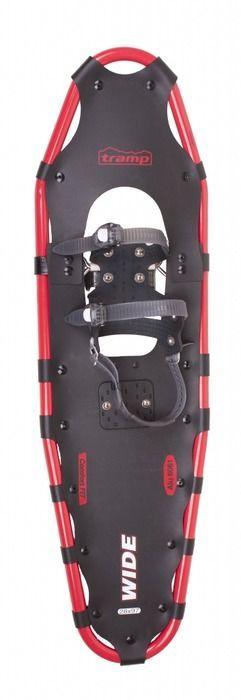 Снегоступы Tramp Wide, цвет: черный, красный. TRA-001. Размер XL - Полезные аксессуары