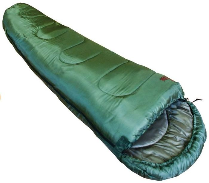 Спальный мешок Тотеm Hunter R, цвет: олива, правосторонняя молния. TTS-004TTS-004_RЭксплуатация спального мешка: После каждого использования следует хорошо просушить спальный мешок на солнце.Не используйте спальный мешок вблизи открытого огня!При укладке спального мешка в компрессионный мешок, не пытайтесь его складывать или скатывать. Следует вталкивать его хаотично. Это позволит избежать смятых волокон и потертостей на месте сгиба. Уход: Спальный мешок следует стирать только при появлении сильных загрязнений, так как каждая стирка ухудшает его теплоизоляционные свойства. Рекомендуется ручная стирка при температуре не выше 40 С. При стирке используйте специальные моющие средства для синтетических наполнителей, которые можно приобрести в специализированных магазинах. Не используйте отбеливатель и ополаскиватель для белья - это может повредить волокна вашего спального мешка! Не следует отжимать спальный мешок, лучше позволить воде самой стечь с него. Запрещается гладить и сушить спальный мешок на батарее!Хранение:Хранить спальный мешок следует в развернутом (не в компрессионном мешке), хорошо просушенном виде в сухом проветриваемом помещении. Размер: 80 (55) х 220 см. Количество слоев: 1. Температура комфорта: 7. Нижний предел комфорта: 0. Температура экстрима: -5. Полный вес: 1150 г. Размер в сложенном виде: 35 х 20 см.