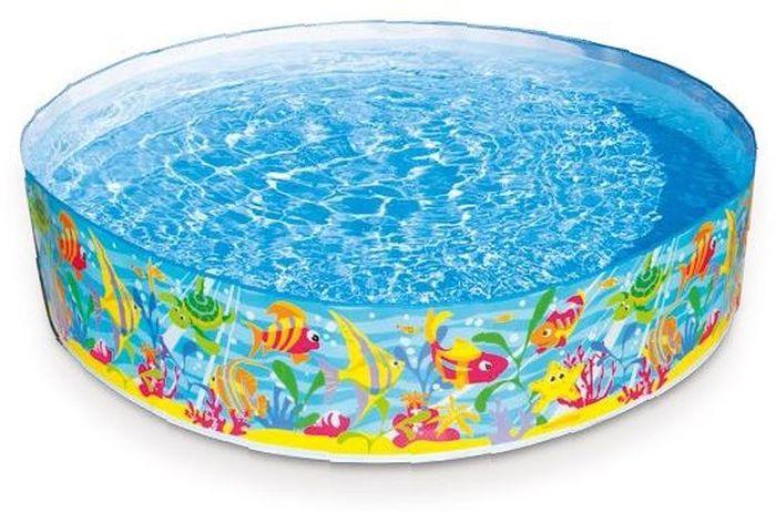 Надувной жесткий бассейн Intex Океан, 183 х 38 см, от 3 лет. с5645209840-20.000.00Бассейн Intex Океан очень прост и удобен по своей конструкции. Детский бассейн не нуждается в подготовке, его не надо надувать, необходимо достать из коробкиразвернуть, а затем залить водой. Это бассейн для детей 3 лет, малышам постарше тоже будет интересен. Качественные материалы и особая технология изготовления обеспечивают изделию прочность.Характеристики:Размеры : высота 38 см, диаметр 183 смЕмкость воды (37см): 977лВремя сборки: 20 мин