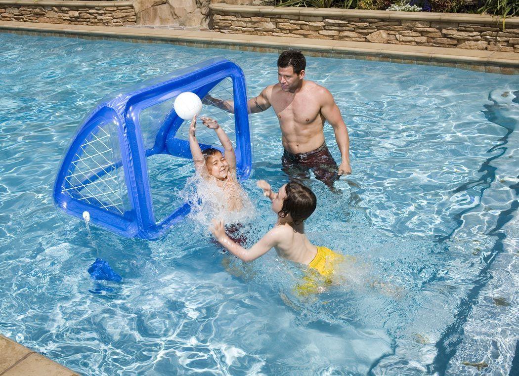 Надувной набор для водного поло  Intex , 140 х 89 х 81 см, от 8 лет. с58507 -  Круги для купания