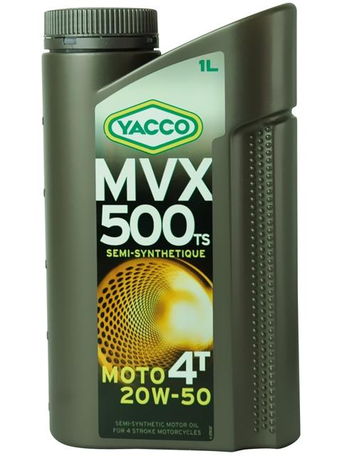 Масло Yacco MVX 500 TS 4T 20W50, для мотоциклов с 4-тактными двигателями, 1 л2706 (ПО)MVX 500 TS 4T 20W-50 Полусинтетическое масло для мотоциклов с 4-тактными двигателями ПРИМЕНЕНИЕ Специально разработанная формула масла для двигателей с большим объемом каждого цилиндра (мощные сдвоенные V-образные двигатели или двигатели с параллельным расположением цилиндров, одноцилиндровые двигатели). Отвечает требования компании Harley-Davidson и требованиям к каталитическим нейтрализаторам. Для снижения расхода масла данный продукт может также использоваться в 4 или 6цилиндровых двигателей для большого километража. Масло используется также для смазки встроенных коробок передач, обеспечивая надлежащую защиту узла «коробка/сцепление» (JASO MA2). ПРЕИМУЩЕСТВА • Класс вязкости 20W-50 снижает расход масла и обеспечивает оптимальную смазку в высокотемпературных режимах • Отличные моющие и диспергирующие свойства • Высокие фрикционные свойства гарантируют надежную работу сцепления • Высокоэффективная защита двигателя и коробки передач от износа • Поддержание первоначальных характеристик двигателя с обеспечением оптимальной защиты от образования осаждений СПЕЦИФИКАЦИИ И ОДОБРЕНИЯ MVX 500 TS 4T 20W-50 соответствует требованиям спецификаций: JASO MA API SL