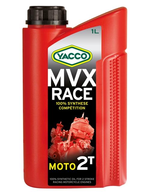 Масло моторное Yacco MVX RACE 2T, 1 лS03301004KVX RACE 2TПолностью синтетическое специальное масло для 2-тактовых спортивных картингов со смешанной смазкой с оборотами двигателя до 25 000 об/мин.ПРИМЕНЕНИЕНовая полностью синтетическая формула на основе эстеров специально разработана для спортивных моделей 2-х тактных двигателей со смешанной смазкой и сверхвысокими оборотами: ROTAX, ATK, PARILLA, PCR, YAMAHA, Ital System, TM и т.п.Данное масло может смешиваться со всеми видами топлива.Концентрация при смешивании: от 2 до 8% в зависимости от условий эксплуатации и рекомендаций составителя смеси.ПРЕИМУЩЕСТВА• База на основе синтетических эфиров обеспечивает отличную стойкость к высокотемпературным режимам работы• Повышенная смазывающая способность уменьшает трения и поддерживает характеристики двигателя на должном уровне• Препятствует образованию нагара на свечах и не допускает загрязнения системы выпуска• Эффективно защищает двигатель от образования отложений, нагаров и смол• Красный цвет делает видимым масло при смешивании с бензиномСПЕЦИФИКАЦИИ И ОДОБРЕНИЯKVX RACE 2T официально одобрено: C.I.K./ F.I.A. (для гонок на картах)KVX RACE 2T соответствует требованиям спецификаций: API TC+Разработанный и протестированный в ходе соревнований смазочный материал KVX RACE 2T значительно превосходит рабочие характеристики, указанные в американских (API) и международных (FIA)стандартах.