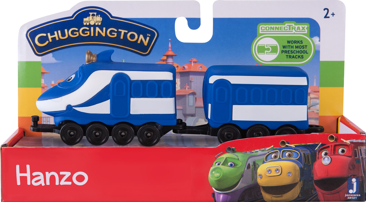 Chuggington Паровоз с вагончиком Ханзо