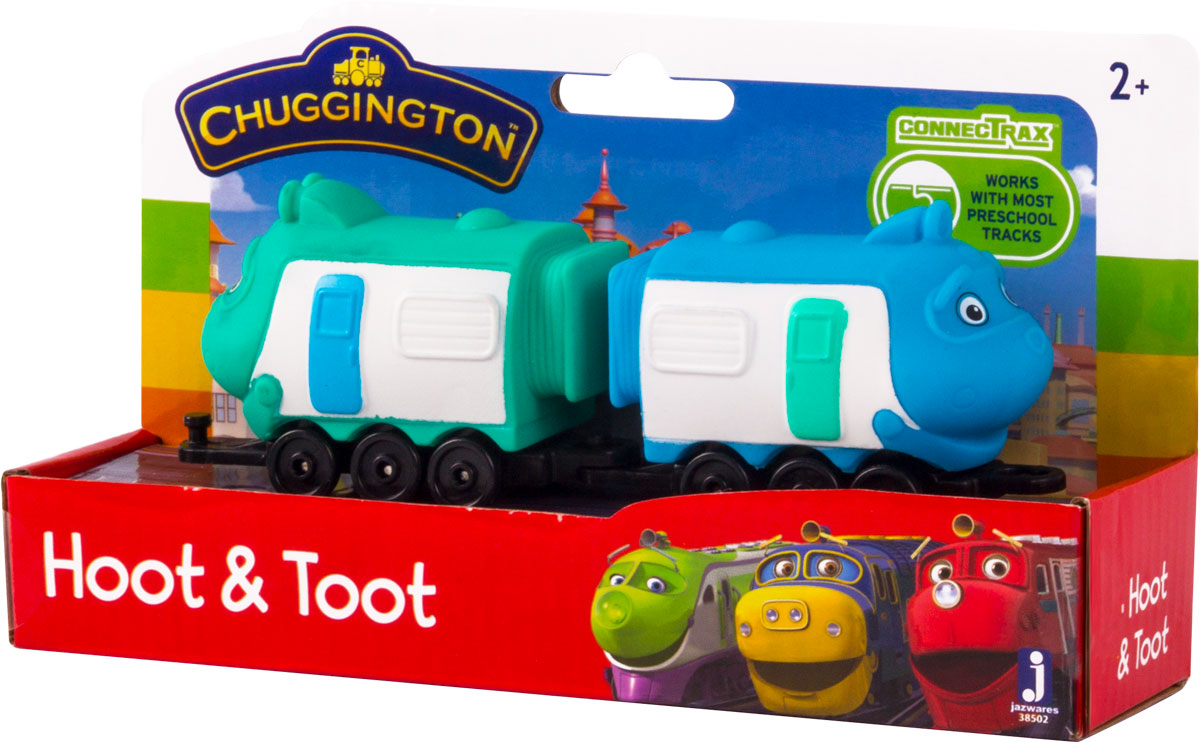 Chuggington Паровоз с вагончиком Хут и Тут