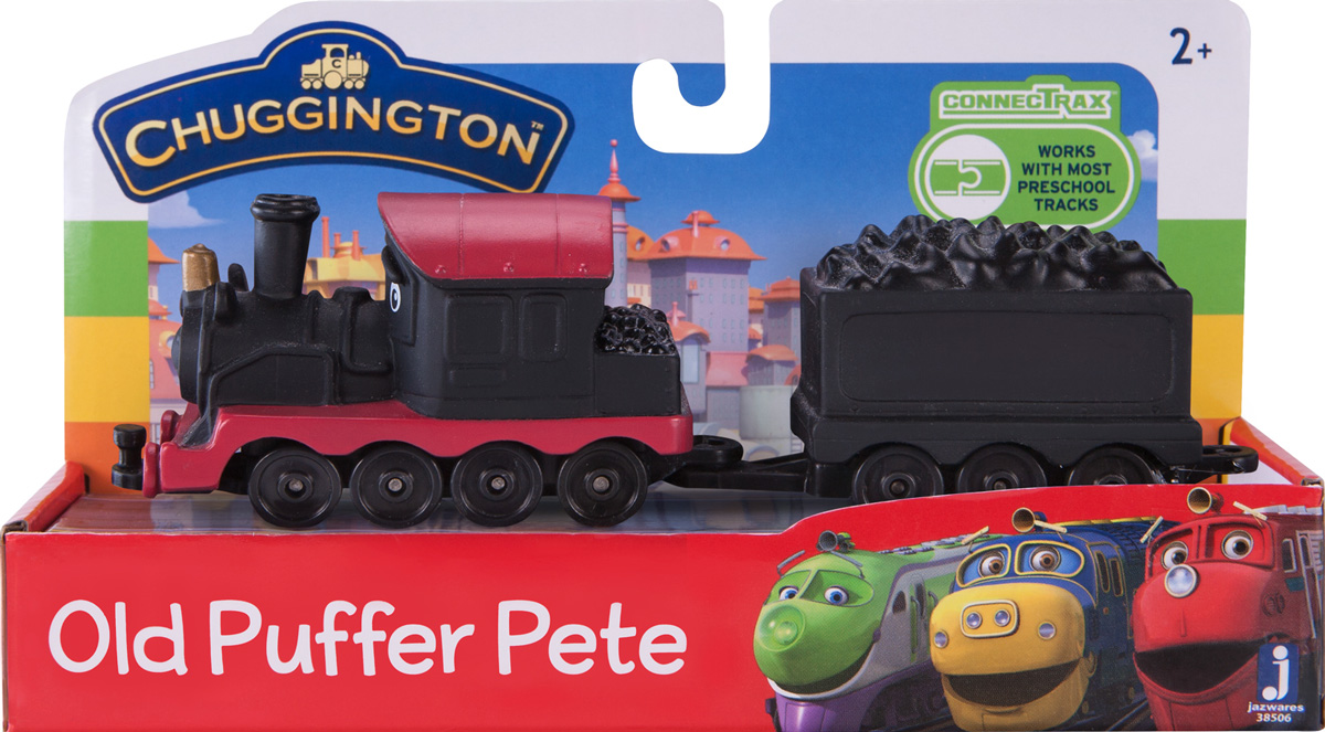 Chuggington Паровоз с вагончиком Пит