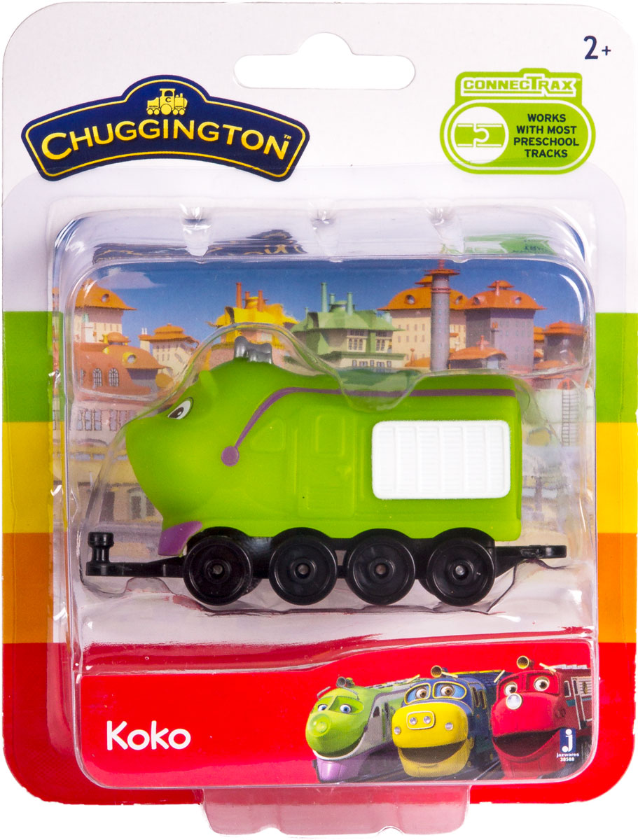 Chuggington Паровоз Коко