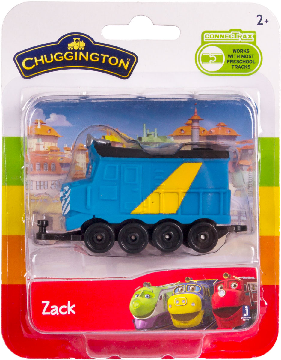 Chuggington Паровоз Зак