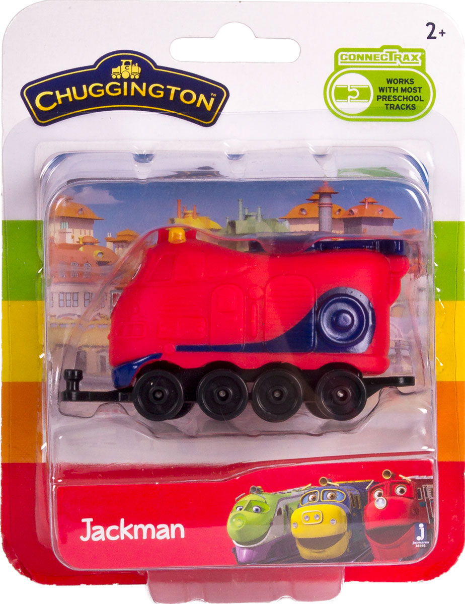 Chuggington Паровоз Джекман 38593
