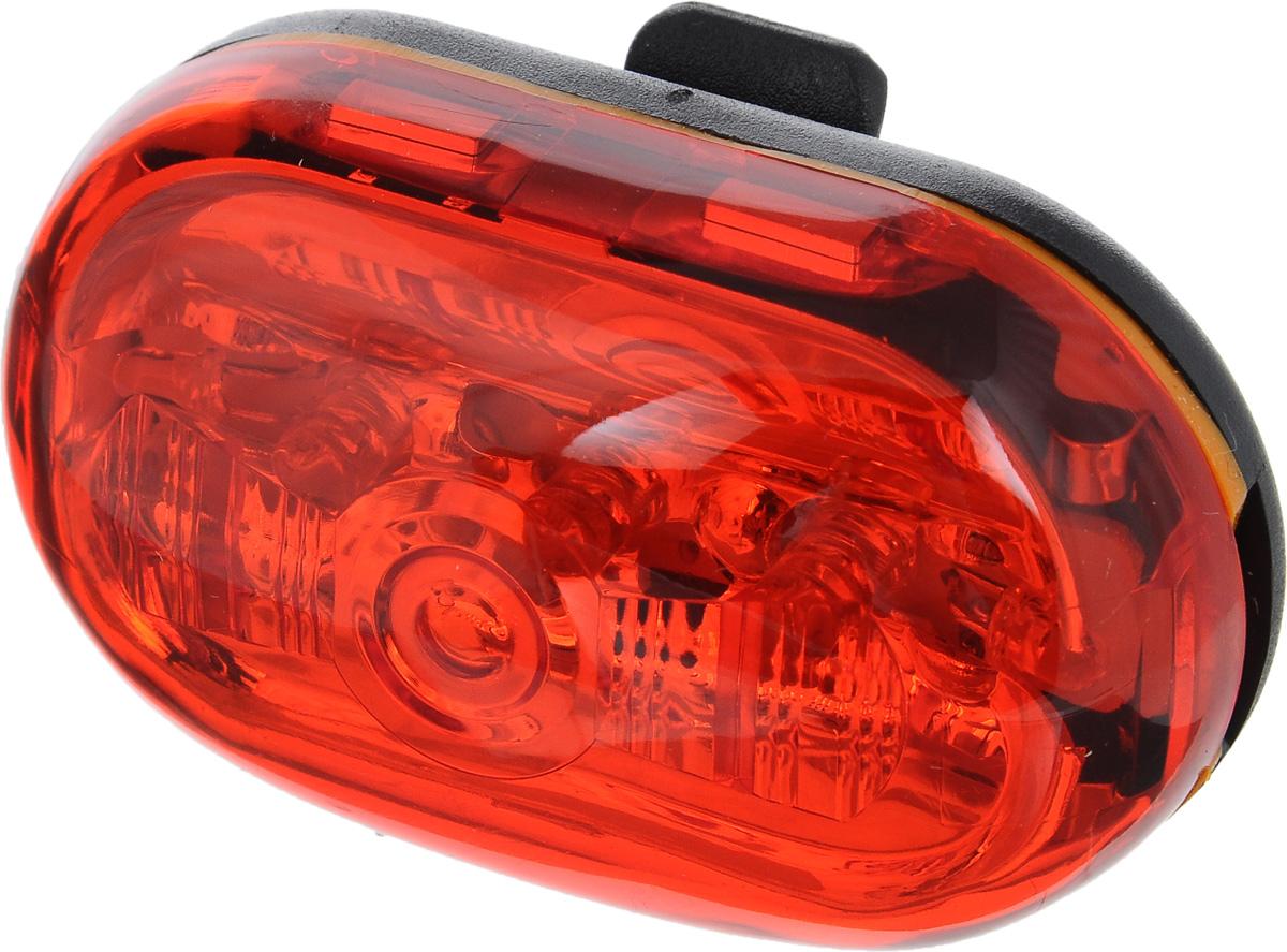 Фонарь велосипедный D-Light CG-404RG, габаритный, задний, цвет: черный, красныйMW-1462-01-SR серебристыйЗадний габаритный фонарь D-Light CG-404RG предназначен для обеспечения большей безопасности при поездках в темное время суток. Работает от 2 батареек типа ААА (входят в комплект). Водонепроницаемый корпус выполнен из прочного пластика. Имеет 4 режима работы: простое свечение, мигание, Random и Chasing. Chasing это режим, при котором лампочки загораются последовательно. При режиме Random лампочки мигают произвольно.Время работы в режиме обычного свечения: 70 ч.Время работы в режиме мигания: 160 ч.Время работы в режиме Random: 250 ч.Время работы в режиме Chasing: 250 ч.Размер фонаря (без учета креплений): 6,3 х 3,5 х 2 см.