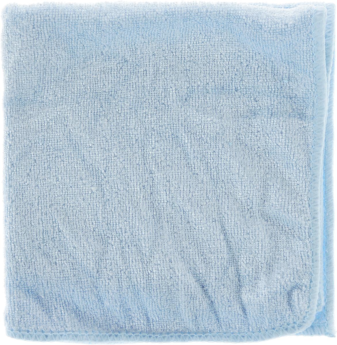 Салфетка из микрофибры для уборки Youll Love, цвет: светло-голубой, 30 х 30 смDW90Салфетка Youll Love, изготовленная из полиэфира 70% и полиамида 30%, предназначена для очищения загрязнений на любых поверхностях. Изделие обладает высокой износоустойчивостью и рассчитано на многократное использование, легко моется в теплой воде с мягкими чистящими средствами. Супервпитывающая салфетка не оставляет разводов и ворсинок, удаляет большинство жирных и маслянистых загрязнений без использования химических средств. Размер салфетки: 30 х 30 см.