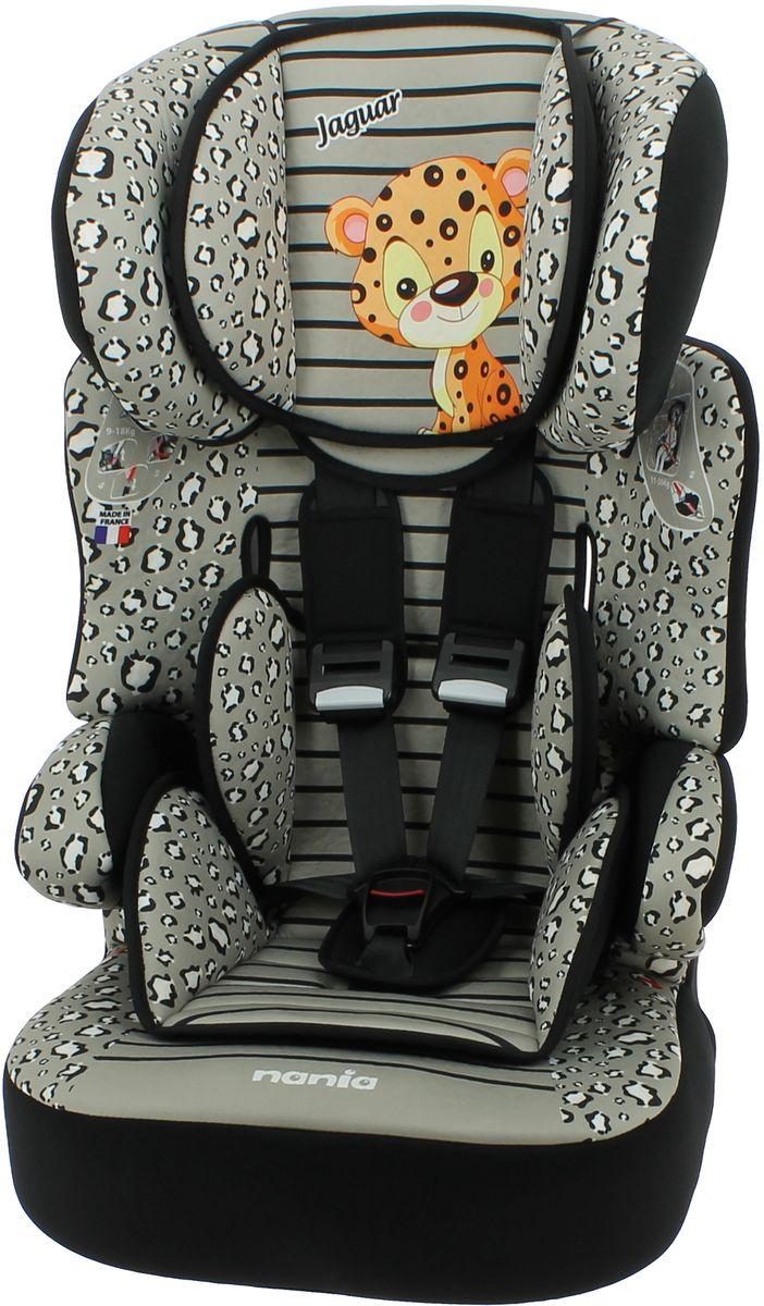 Nania Автокресло Beline SP Jaguar от 9 до 36 кг293937Автокресло Nania Beline SP относится к группе 1/2/3, от 8 месяцев до 12 лет (9-36 кг). Соответствует стандартам ECE R44/04. Beline SP - это два кресла в одном. Оно охватывает все возрастные группы в возрасте от примерно 8 месяцев до 12 лет (когда ребенка в автомобиле уже можно перевозить без специального удерживающего устройства) благодаря регулируемому по высоте подголовнику. Когда ребенок подрастет, спинку автокресла можно отстегнуть и использовать только бустер. Автокресло Beline SP было разработано согласно самым жестким требованиям безопасности, а также учитывая ортопедические факторы: мягкая, приятная на ощупь обивка и анатомическая форма. Ваш ребенок будет чувствовать себя комфортно даже в дальних поездках. Широкий мягкий подголовник, спинка и подлокотники обеспечат дополнительный комфорт и безопасность маленького пассажира даже в случае бокового столкновения. Высоту подголовника можно регулировать по высоте, кресло растет вместе с вашим ребенком. Все тканевые части легко снимаются и стираются.