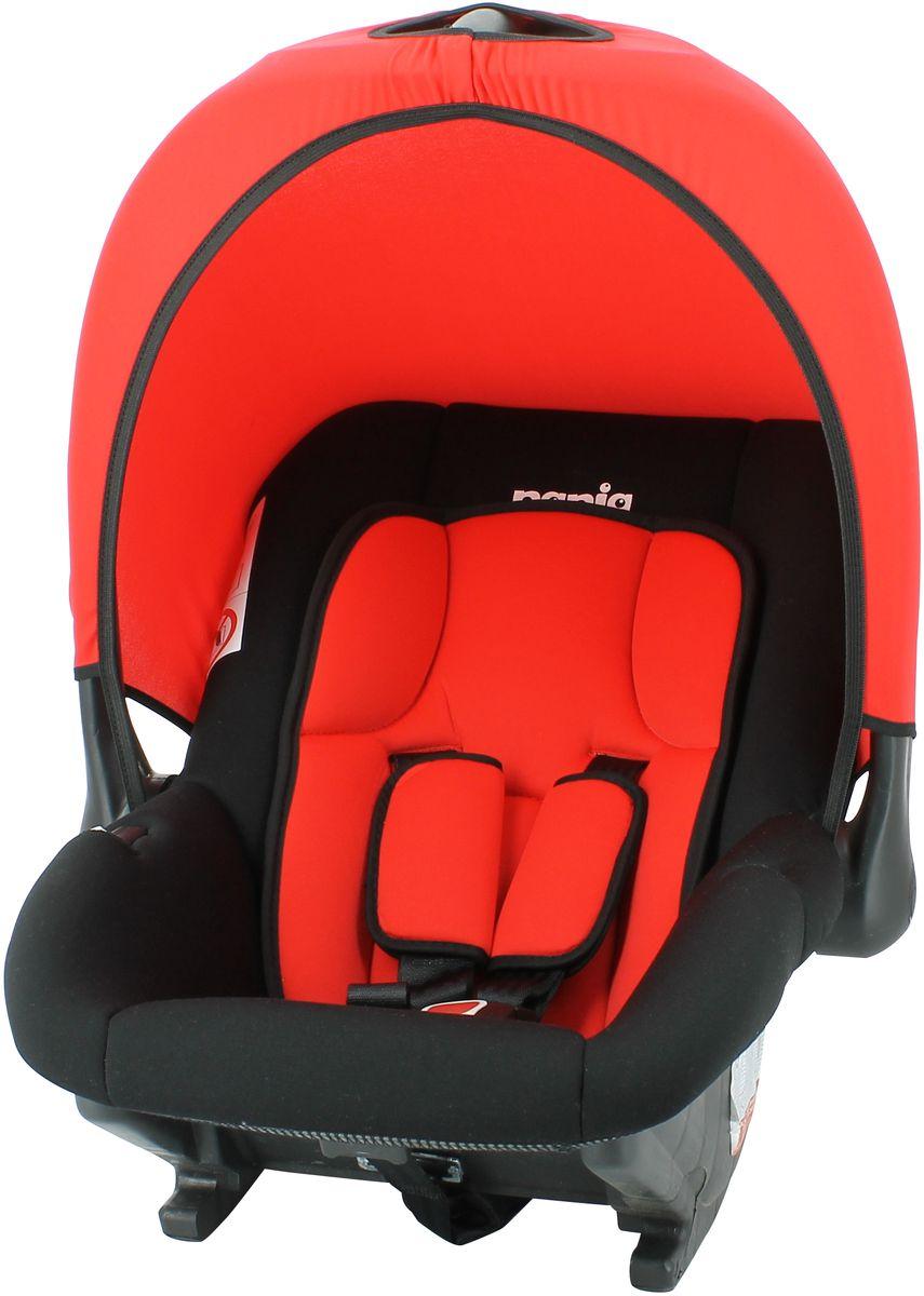 Nania Автокресло Baby Ride Eco от 0 до 13 кг цвет redWTID03Автокресло nania Baby Ride, группа 0+ (0-13 кг), имеет глубокую удобную форму.Это кресло может стать первым попутчиком Вашего малыша во время автомобильных прогулок.Прочный каркас анатомической формы из полипропилена. Поглощающая силу удара прослойка из полистирола. Пятиточечные ремни безопасности с 3-мя уровнями регулировки по высоте и мягкими плечевыми накладками. Улучшенный вкладыш и ручка для переноски младенца.Автокресло nania Baby Ride (Бэби Райд) может быть расположено внутри автомобиля, лицом против хода на заднем сиденье (не рекомендуется оставлять ребенка одного) и на переднем сиденье только в том случае, если подушка безопасности отключена.Съемный чехол обивки из техно-ткани. Возможна ручная стирка тканевых частей при комнатной температуре. nania Baby Ride соответствует Европейскому Стандарту Безопасности ECE R44/03.Серия ECO - базовая версия автокресла, имеет простой дизайн, но при этом гарантирует европейское качество и обеспечивает безопасность пассажира.Технические характеристики:- Внешние размеры (Д х Ш х В): 65 х 44 х 30 см- Внутренние размеры(Д х Ш): 32 х 28 см- Высота спинки: 47 см- Вес: 2.75 кг- Ткань: 100% полиэстер.