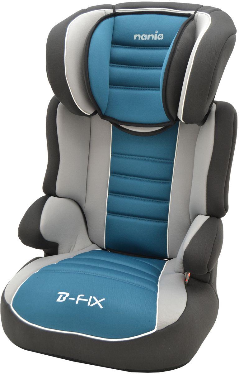Nania Автокресло Befix SP LX от 15 до 36 кг цвет голубой серыйYB804A CoffeeАвтокресло Nania Befix SP LX относится к группе 2/3, от 3 до 12 лет (15-36 кг). Соответствует стандартам ECE R44/04. Кресло Befix SP LX имеет дополнительную подушку в районе головы, а обивка - больше поролона, что обеспечит ребенку максимальный комфорт.Befix SP - это два кресла в одном. Когда ребенок подрастет, спинку автокресла можно отстегнуть и использовать только бустер. Автокресло Befix SP было разработано согласно самым жестким требованиям безопасности, а также учитывая ортопедические факторы: мягкая, приятная на ощупь обивка и анатомическая форма. Ваш ребенок будет чувствовать себя комфортно даже в дальних поездках. Широкие мягкие подголовник, спинка и подлокотники обеспечат дополнительный комфорт и безопасность маленького пассажира даже в случае бокового столкновения. Высоту подголовника можно регулировать по высоте, кресло растет вместе с вашим ребенком. Все тканевые части легко снимаются и стираются.