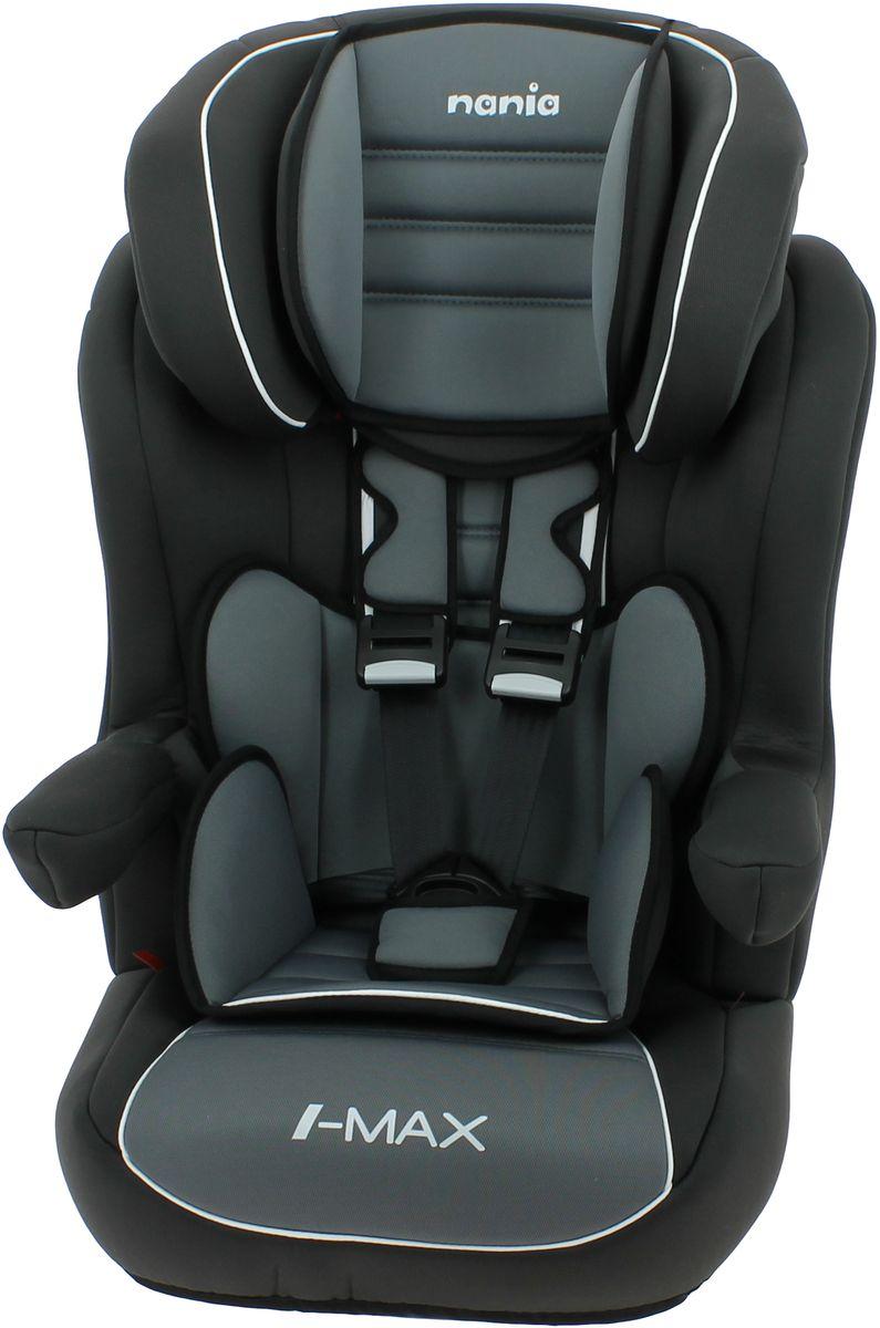 Nania Автокресло Imax SP Luxe Isofix от 9 до 36 кг цвет черный серый -  Автокресла и аксессуары