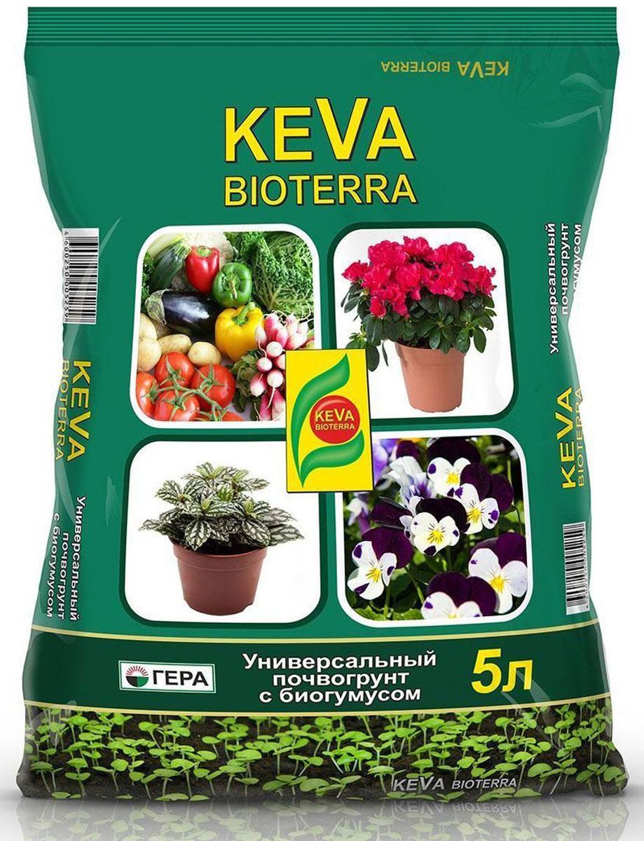 """Почвогрунт Гера """"Keva Bioterra. Универсальный"""", 5 л"""