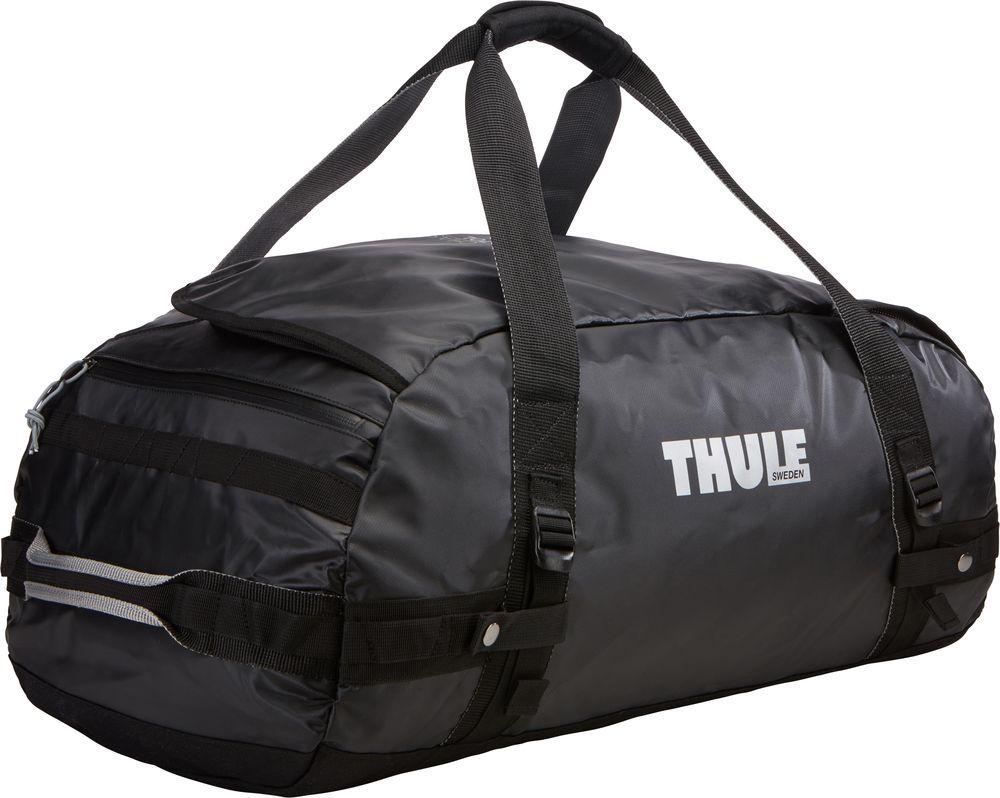 Спортивная сумка-баул Thule Chasm, цвет: черный, 70 л. Размер M221201Спортивная сумка-баул Thule Chasm - эти жесткие, устойчивые к неблагоприятным погодным условиям сумки с широко раскрывающимся основным отделением и съемными ремнями - ваши надежные спутники в любой поездке.Особенности:Увеличенный угол открывания облегчает доступ к содержимому. Возможны два способа переноски: в качестве рюкзака и спортивной сумки (все неиспользуемые ремни можно убрать). Прочная водонепроницаемая брезентовая ткань защищает вещи, а также легко складывается для компактного хранения. Внутренние сетчатые карманы помогают сортировать и хранить вещи. Внешние стягивающие ремни удерживают вещи так, чтобы они не падали на дно сумки, когда сумка становится рюкзаком. Мягкое дно защитит вещи при контакте с землей. Запирающийся боковой карман на молнии позволяет надежно хранить небольшие предметы под рукой (замок продается отдельно). Быстрый доступ к небольшим предметам через внешний потайной карман.