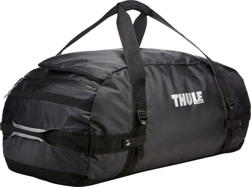 Спортивная сумка-баул Thule Chasm, цвет: черный, 90 л. Размер L221301Спортивная сумка-баул Thule Chasm - эти жесткие, устойчивые к неблагоприятным погодным условиям сумки с широко раскрывающимся основным отделением и съемными ремнями — ваши надежные спутники в любой поездке.Особенности:Увеличенный угол открывания облегчает доступ к содержимому. Возможны два способа переноски: в качестве рюкзака и спортивной сумки (все неиспользуемые ремни можно убрать). Прочная водонепроницаемая брезентовая ткань защищает вещи, а также легко складывается для компактного хранения. Внутренние сетчатые карманы помогают сортировать и хранить вещи. Внешние стягивающие ремни удерживают вещи так, чтобы они не падали на дно сумки, когда сумка становится рюкзаком. Мягкое дно защитит вещи при контакте с землей. Запирающийся боковой карман на молнии позволяет надежно хранить небольшие предметы под рукой (замок продается отдельно). Быстрый доступ к небольшим предметам через внешний потайной карман.