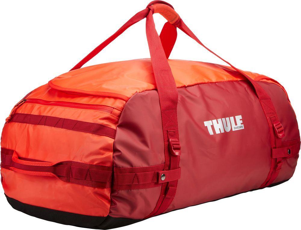 Спортивная сумка-баул Thule  Chasm , цвет: ярко-оранжевый, 90 л. Размер L - Туристические сумки