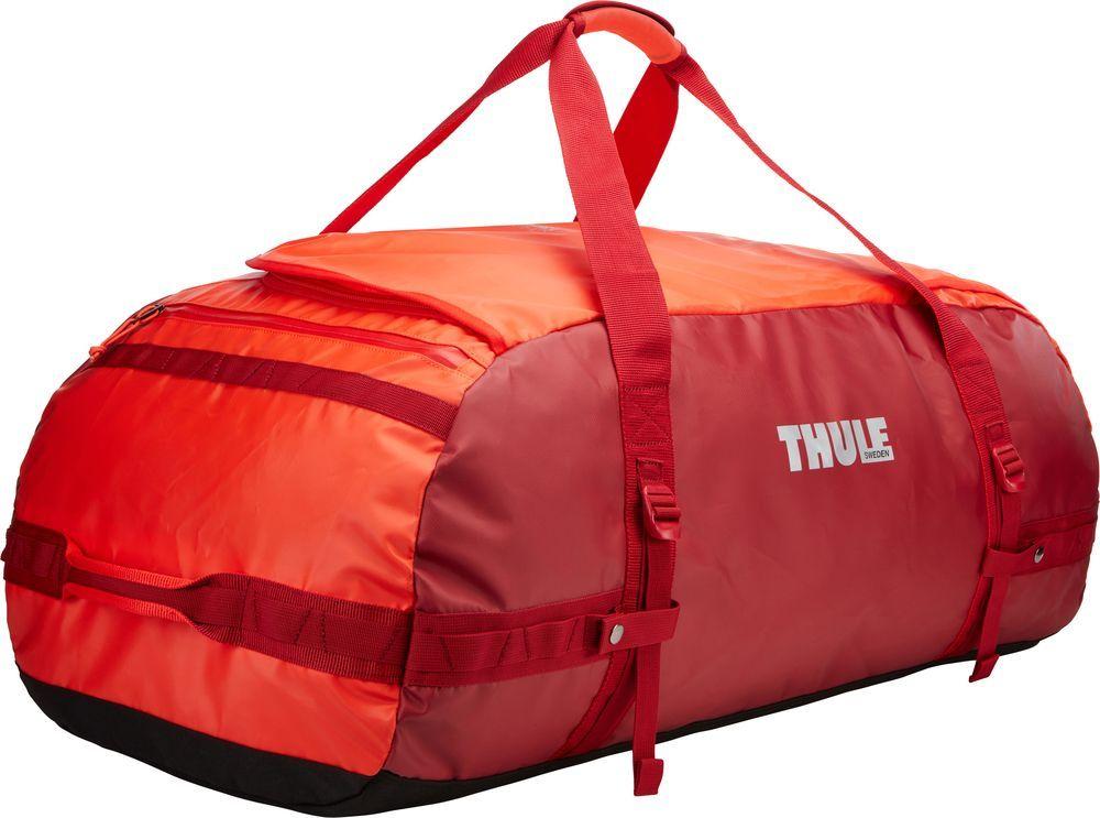 Спортивная сумка-баул Thule  Chasm , цвет: ярко-оранжевый, 130 л. Размер XL - Туристические сумки