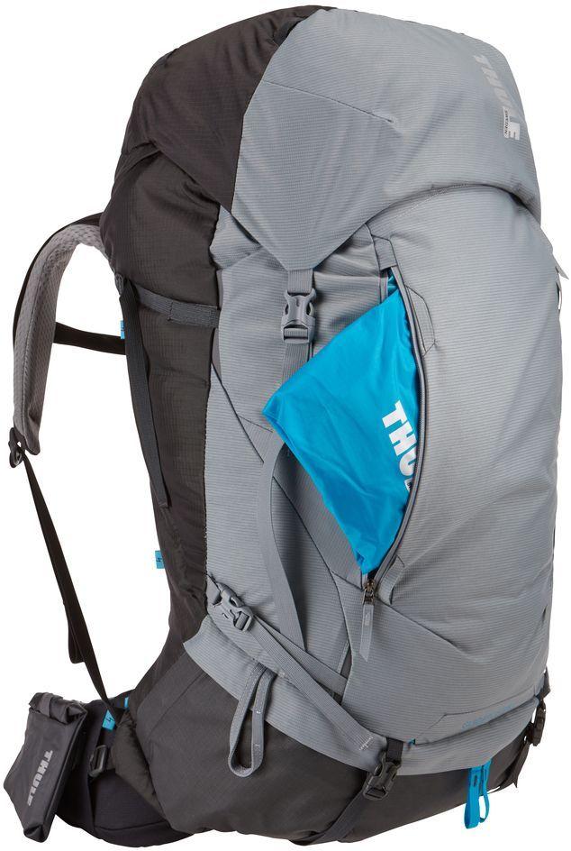 Рюкзак туристический женский Thule Guidepost, цвет: серый, 75 л222102Удобный женский рюкзак для длительных путешествий Thule Guidepost с объемом 75 л отличается настраиваемой системой крепления TransHub, обеспечивающей идеальную посадку, поворачивающимся набедренным ремнем, который позволяет рюкзаку повторять ваши движения, и крышкой, способной трансформироваться в дополнительный рюкзак, который поможет вам покорить любую вершину.Лямки с шагом 15 см легко регулируются для идеальной посадки рюкзака, а наплечные ремни QuickFit имеют три варианта длины.Система крепления Transhub и усиленный поясной ремень помогают максимально перенести вес рюкзака на бедра, обеспечивая более удобную посадку.За счет поворотного поясного ремня рюкзак повторяет ваши движения, обеспечивая более естественную ходьбу.Съемный верхний клапан трансформируется в отдельный просторный рюкзак объемом 28 л.Съемный всепогодный сворачивающийся карман VersaClick защищает снаряжение от непогоды.Регулируемый поясной ремень совместим со взаимозаменяемыми аксессуарами VersaClick (продаются отдельно).Яркий съемный дождевой чехол поможет сохранить вещи сухими во время проливного дождя.Разместив внешний аккумулятор в отделении PowerPocket, можно на ходу заряжать мобильное устройство в кармане поясного ремня.Удобный доступ к содержимому рюкзака благодаря большой J-образной застежке на молнии на боковой панели.Дышащая задняя панель способствует лучшей циркуляции воздуха, а мягкая опора обеспечивает поддержку в главных точках соприкосновения.