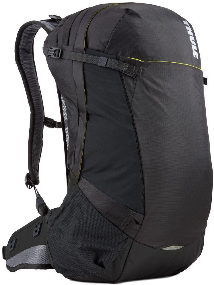 Рюкзак туристический мужской Thule Capstone, цвет: темно-серый, 32 л67742Мужской туристический рюкзак Thule Capstone подходит для путешествий на целый день, имеет регулируемую подвеску, воздухопроницаемую заднюю панель и вшитый дождевой чехол.Система крепления MicroAdjust позволяет отрегулировать ремень для торса на 10 см при надетом рюкзаке, чтобы добиться идеальной посадки.Сеточная задняя панель натягивается, обеспечивая превосходную воздухопроницаемость и позволяя вам не потеть и оставаться сухим в пути.Яркая съемная накидка от дождя обеспечивает сухость ваших принадлежностей во время ливнейРегулируемый поясной ремень совместим со взаимозаменяемыми аксессуарами VersaClick (продаются отдельно).С помощью держателя палок VersaClick, входящего в комплект поставки, можно удобно закрепить треккинговые палки на поясном ремне, не снимая рюкзак.Карман на молнии в верхней части рюкзака предназначен для хранения небольших предметов.В карман на поясном ремне можно положить еду, телефон или небольшие предметы.Эластичный карман Shove-it Pocket обеспечивает быстрый доступ к часто используемым предметам.Можно легко переместить снаряжение в переднюю часть рюкзака с помощью ремешка, продетого сквозь прочную петлю.Задние крепления для треккинговых палок и ледоруба можно убрать, если они не используются.
