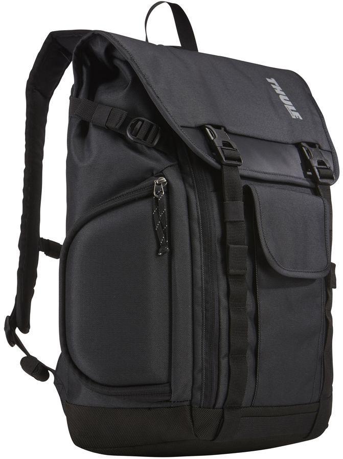 Рюкзак городской Thule Subterra Backpack, цвет: темно-серый, 25 л3203037Рюкзак Thule Subterra - Рюкзак, подходящий для поездок на работу, позволяет увеличивать объем, а также отличается наличием отделений с быстрым доступом. Имеется специальная защита для MacBook с диагональю экрана 15; и планшета (или iPad) с диагональю экрана 10,1.Специальные полосы SafeEdge на отделении для MacBook повышают его ударопрочность.Защитный карман с мягкой подкладкой для планшета.Доступ к ноутбуку и планшету из основного отделения или через боковую молнию.Съемное отделение SafeZone служит для защиты солнечных очков, смартфона или других хрупких предметов.Большая застежка-молния позволяет широко раскрыть основное отделение для удобной укладки вещей и обеспечивает полный обзор содержимого.Объем удобного переднего кармана увеличивается, что позволяет класть в него крупные предметы, такие как U-образный замок или адаптер питания для ноутбука.В скрытом вертикальном кармане можно хранить часто используемые предметы среднего размера, такие как наушники, головной убор или перчатки.Карман-органайзер с защелкой для хранения карт доступа или ключей.Встроенная система крепления для карабина или велосипедного фонаря.Внутренний сетчатый карман с застежкой-молнией позволяет видеть мелкие предметы и при этом обеспечивает их безопасность.