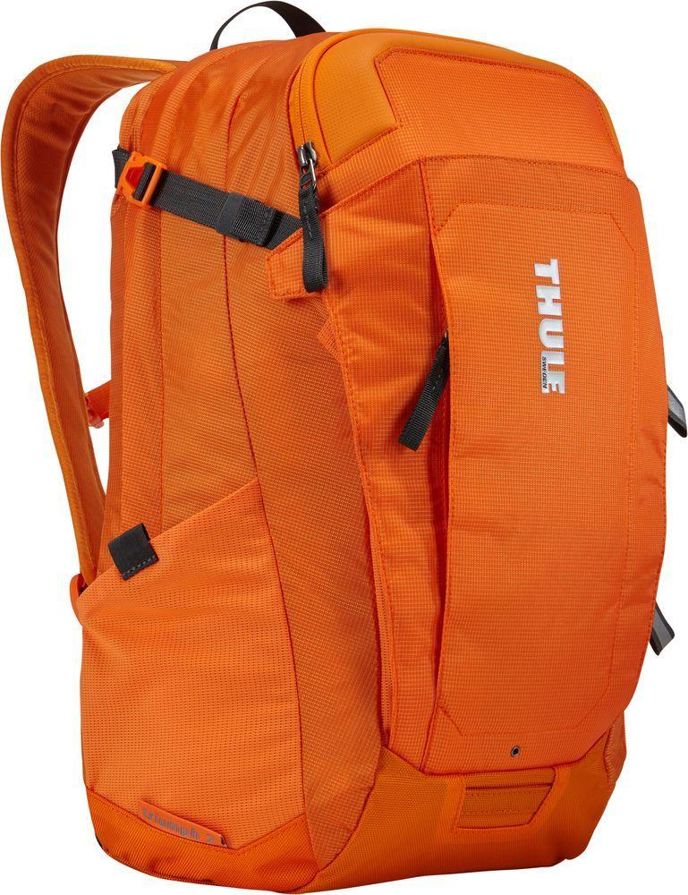 Рюкзак городской Thule EnRoute Triumph, цвет: оранжевый, 21 лГризлиРюкзак Thule EnRoute Triumph 2 - Рюкзак объемом 21 л с конструкцией SafeEdge для защиты ноутбука и отделениями для хранения самых необходимых повседневных вещей.